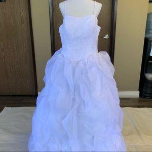 15 Forever white Dress